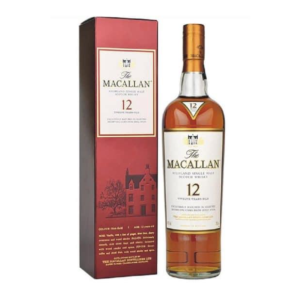 Maccallan Sherry 12 Uk