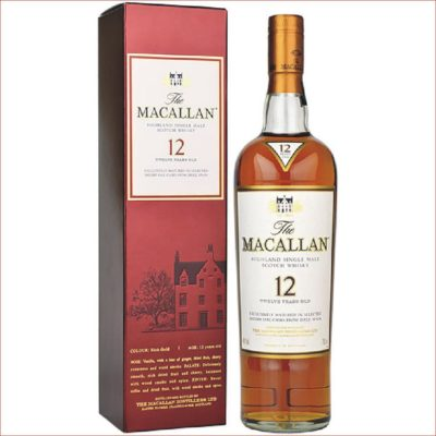 Macallan 12 Sherry UK