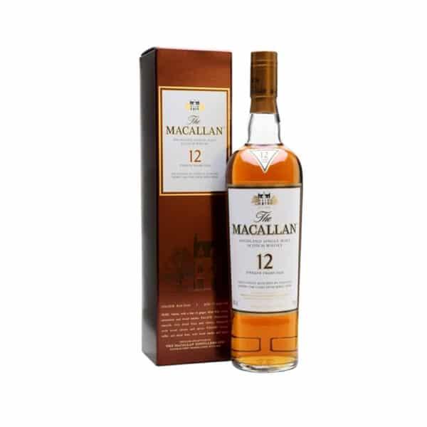 Macallan 12 Năm Sherry Oak Mẫu Cũ 1