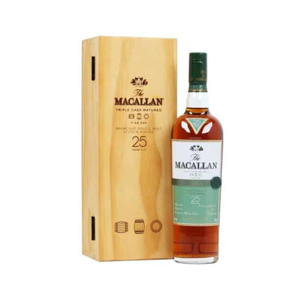 Macallan 25 Năm Fine Oak UK 2020 1