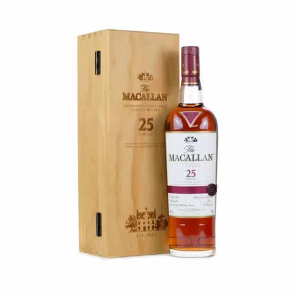 Macallan 25 Năm Sherry Oak Mẫu Cũ 1