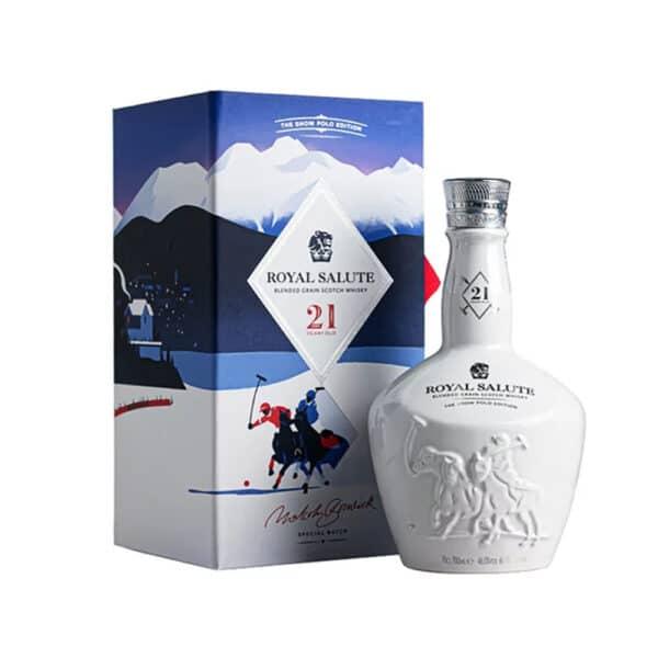 Chivas Royal Salute 21 Năm Snow Polo Editon 1