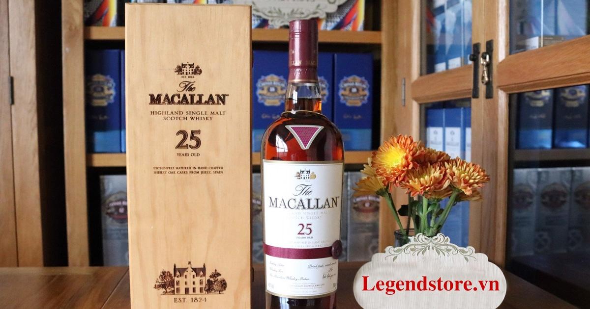 dac-diem-cua-ruou-Macallan-25-Sherry-Oak
